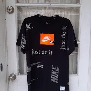 Nike Mens Black Shirt Sz S